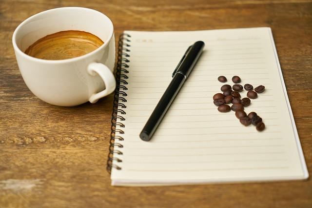 kniha káva