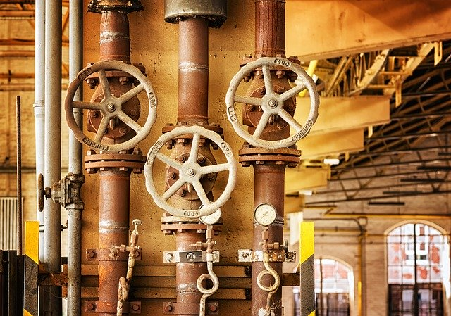 Ventily v potrubní síti